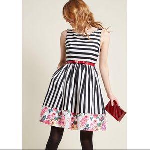 ModCloth | Miss Mix It A Line Dress
